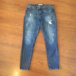 Eunina Skinny Destroyed Jeans